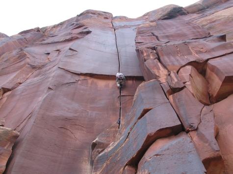 Supercrack of the Desert, Indian Creek, UT