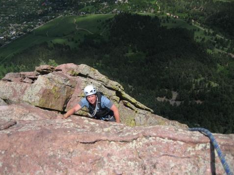 North Ridge, First Flatiron, Boulder, CO
