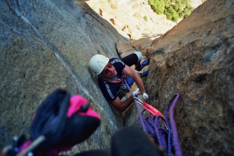 NorthEast Buttress of Higher Cathedral, Yosemite, CA
