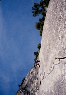 Sons of Yesteryear/Serenity Crack, Yosemite, CA