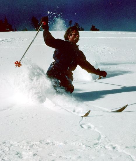 Retro Skiing 002